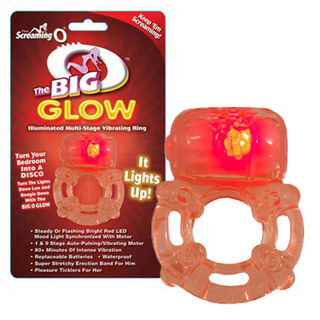 The Big O Glow Cock Ring