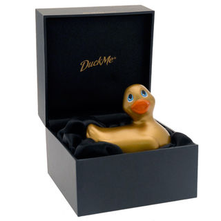 I Rub My Duckie Gold Vibrator