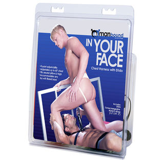 Manbound In Your Face Chest Harness