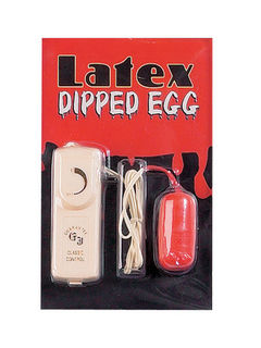 Latex Dipped Sex Egg