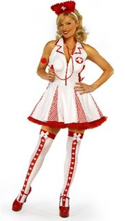 White Nurses Costume