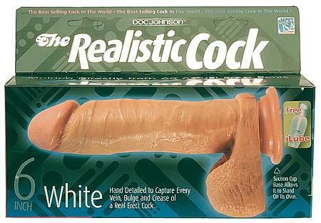 The Realistic Cock 6 Inch
